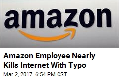 Internet Crippled by Amazon Employee's Typo