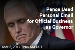 Pence Used AOL Email for Official Business as Governor