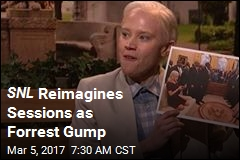 SNL Reimagines Sessions as Forrest Gump