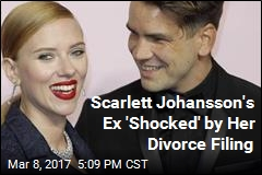 Scarlett Johansson's Ex 'Shocked' by Her Divorce Filing