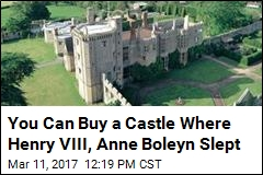 You Can Buy a Castle Where Henry VIII, Anne Boleyn Slept