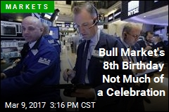 Bull Market's 8th Birthday Not Much of a Celebration