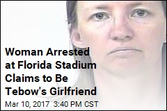 Woman Loitering at Mets Stadium Claims to Be Tebow's Girlfriend