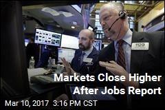 Markets Close Higher After Jobs Report