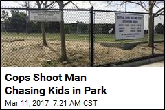Cops Shoot Man Chasing Kids in Park