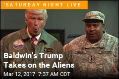 Baldwin's Trump Takes on the Aliens