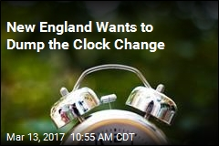 New England Lawmakers Want Their Own Time Zone