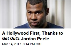 A Hollywood First, Thanks to Get Out's Jordan Peele