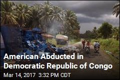 American Abducted in Democratic Republic of Congo