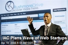 IAC Plans Wave of Web Startups