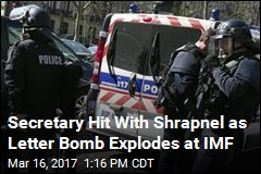 Letter Bomb Explodes at France Office of IMF