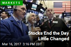 Stocks End the Day Little Changed