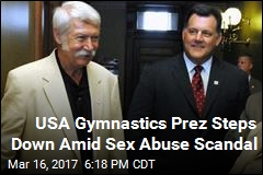 USA Gymnastics Prez Steps Down Amid Sex Abuse Scandal