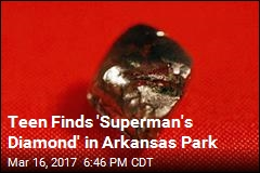 Teen Finds 7.44 Carat Diamond in Arkansas Park