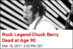 Rock Legend Chuck Berry Dead at Age 90