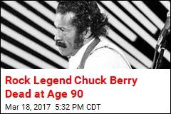 Rock Legend Chuck Berry Dead at Age 90