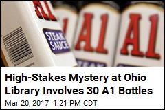 High-Stakes Mystery at Ohio Library Involves 30 A1 Bottles