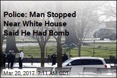 Man Stopped Near White House Claimed He Had Bomb in Trunk