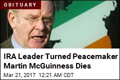 IRA Leader Turned Peacemaker Martin McGuinness Dies