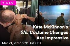 Kate McKinnon's SNL Costume Changes Are Impressive