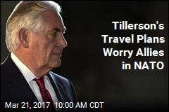 Tillerson to Skip NATO Meeting, Visit Russia