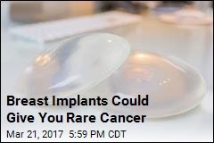 FDA Links Breast Implants to Rare Form of Cancer