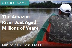 The Amazon River Just Aged Millions of Years