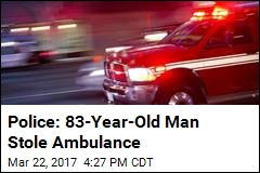 83-Year-Old Man Arrested After Stealing Ambulance