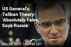 US General Suggests Russia Is Supplying the Taliban