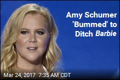 Amy Schumer Won't Be Barbie After All