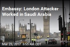 Embassy: London Attacker Worked in Saudi Arabia