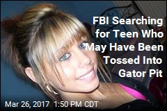 FBI Searching for Teen Who May Have Been Tossed in Gator Pit