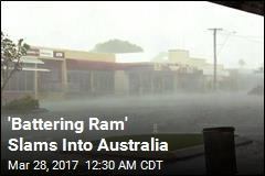 Cyclone Slams Into Northeast Australia