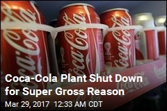 Suspected Human Waste Found in Cans at Coca-Cola Plant