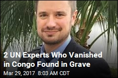 2 of UN's Group of Experts Found in Congolese Grave