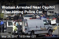 Woman Arrested Near Capitol After Hitting Police Car