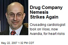 Drug Company Nemesis Strikes Again