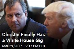 Christie, Trump Launch Drug Addiction Task Force