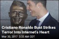 Soccer Star Cristiano Ronaldo Gets a Terrifying Tribute