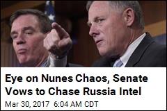 Eye on Nunes Chaos, Senate Promises a Fair Russia Probe