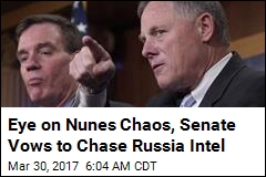 Eye on Nunes Chaos, Senate Promises a Fair Russia Probe