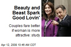 Beauty and Beast Spark Good Lovin'