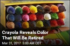 Crayola Reveals Color That Will Be Retired
