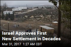 Israel Approves First New Settlement Since '90s