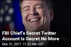 Reporter Finds Comey's Secret Twitter Account (Probably)