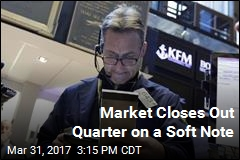 Market Closes Out Quarter on a Soft Note