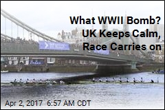 WWII Bomb or Not, UK Race Will Carry on