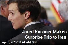 Jared Kushner Makes Surprise Trip to Iraq