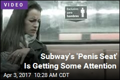 Subway's 'Penis Seat' Is Getting Some Attention