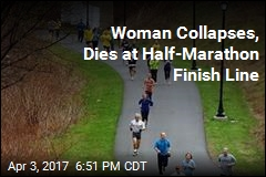 Woman Collapses, Dies at Finish Line of Half Marathon